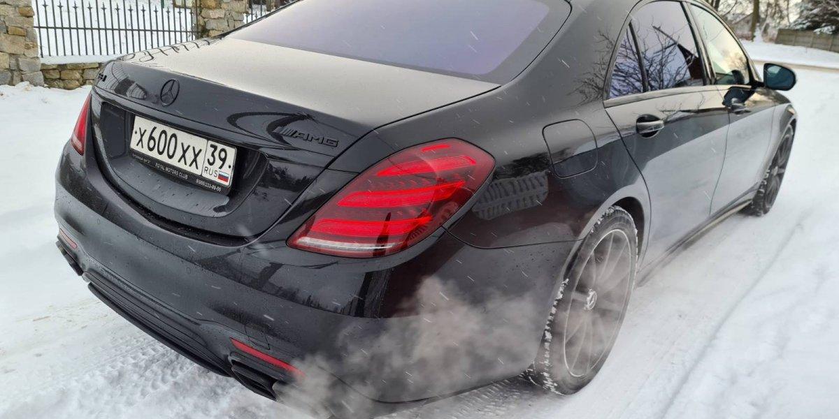 Mercedes-Benz W222 S63 - аренда Премиум авто