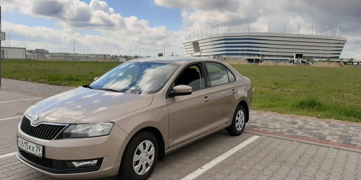 Skoda Rapid - аренда Комфорт авто