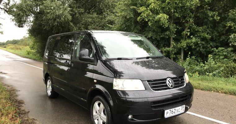 Volkswagen Multivan - аренда Микроавтобус 6-7 мест авто