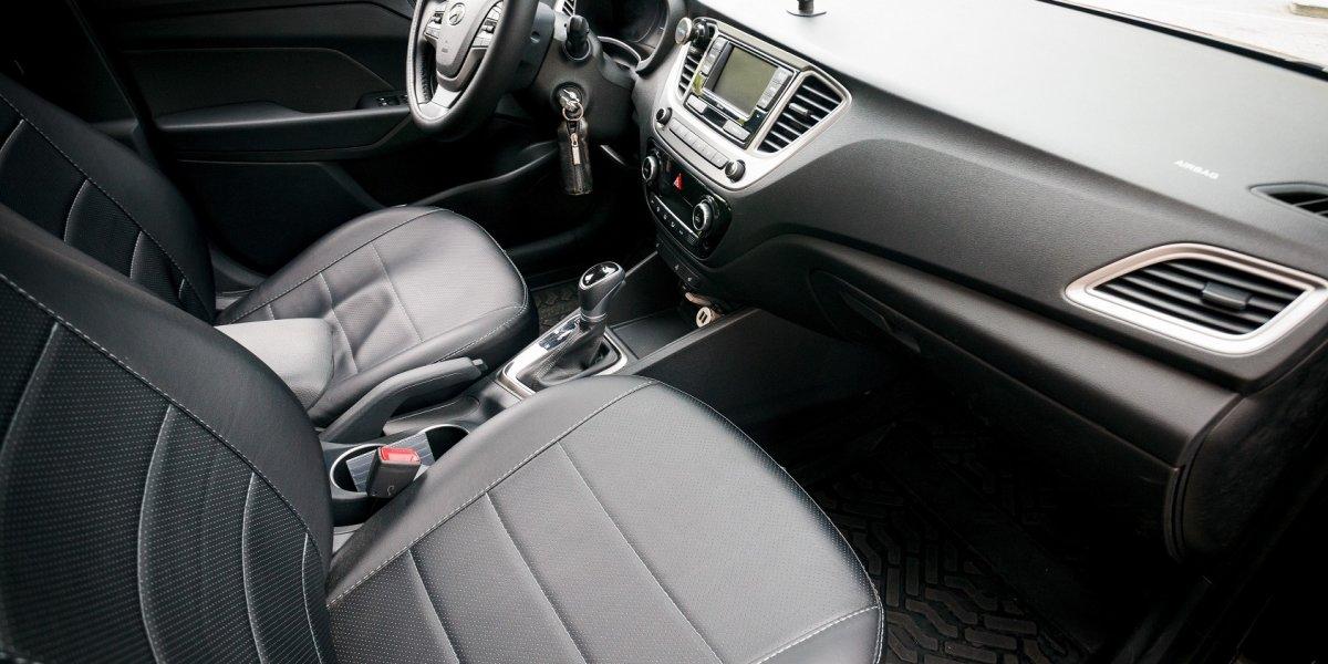 Hyundai Solaris - аренда Комфорт авто