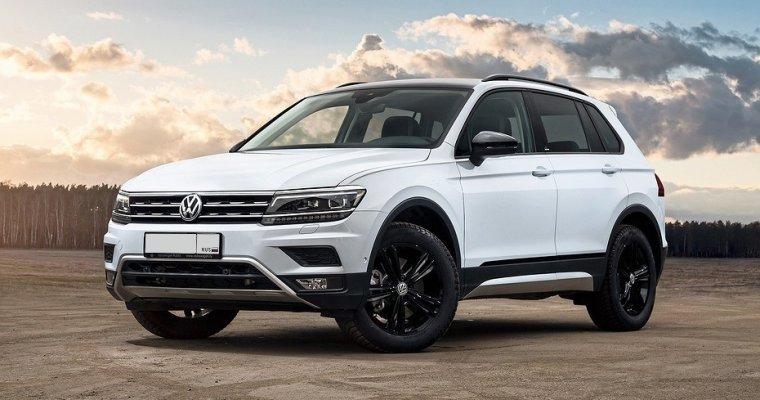 Volkswagen Tiguan - аренда Бизнес авто