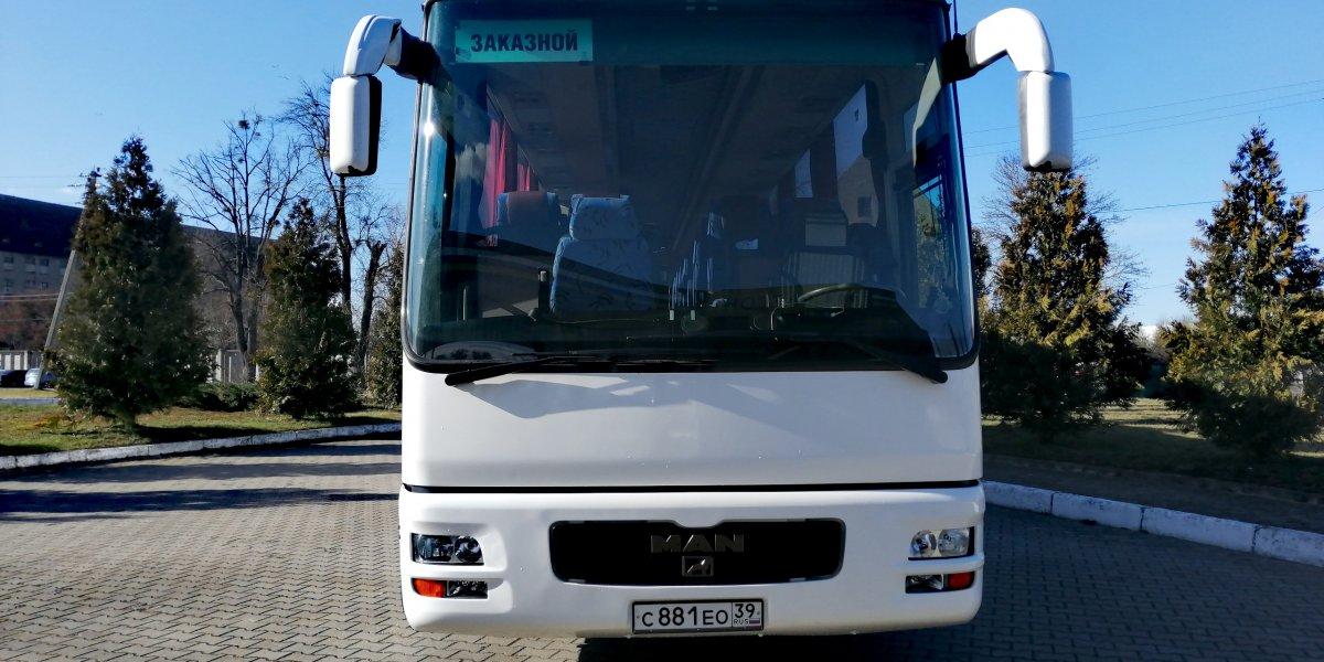 MAN 49 - аренда Автобус 25-50 мест авто