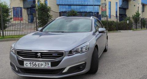 Peugeot 508 - аренда авто