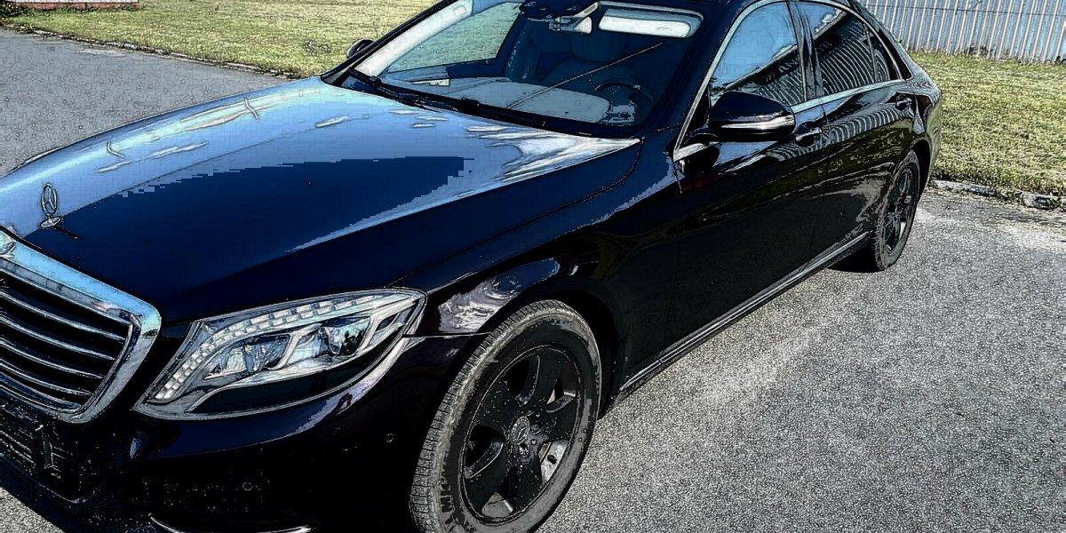 Mercedes S class W222 - аренда Премиум авто