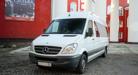 Mercedes Sprinter - аренда авто