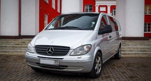 Mercedes Viano - аренда авто