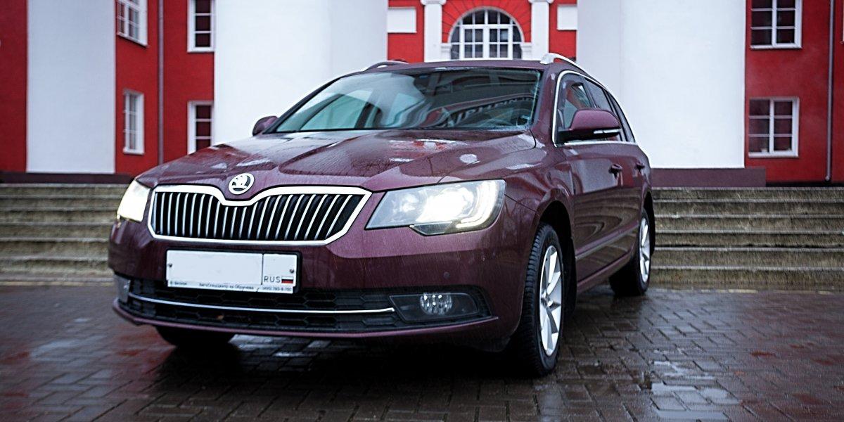 Skoda SuperB - аренда Бизнес авто
