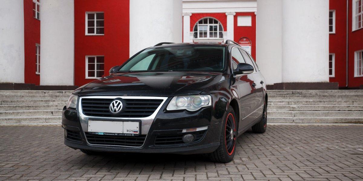 Volkswagen Passat - аренда Комфорт авто