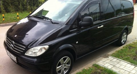 Mercedes Vito - аренда авто