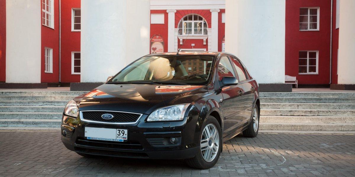 Ford Focus - аренда Комфорт авто