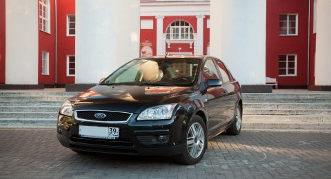 Ford Focus - аренда авто